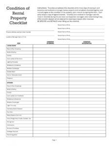 sample 10 house inspection checklist examples  pdf  examples home inspection checklist template excel