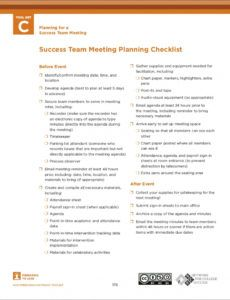 sample free 11 team meeting checklist examples in pdf  google meeting planning checklist template pdf