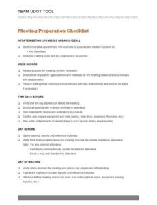 12 checklist templates for business  free & premium templates meeting room checklist template excel