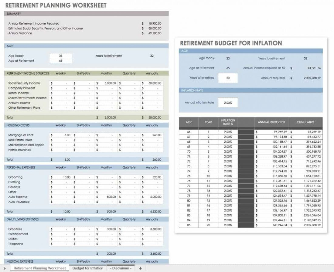 editable free financial planning templates  smartsheet personal finance checklist template pdf