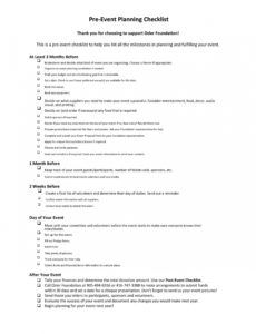 editable 50 professional event planning checklist templates ᐅ fundraising event planning checklist template sample