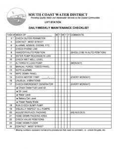 free 43 printable vehicle maintenance log templates ᐅ templatelab automotive service checklist template