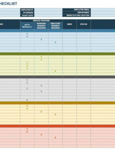 free onboarding checklists and templates  smartsheet onboarding checklist template word