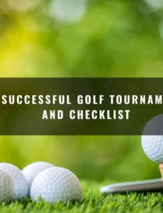 free planning a successful golf tournament timeline and golf tournament checklist template excel