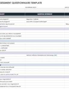free vendor risk assessment templates  smartsheet vendor selection checklist template pdf