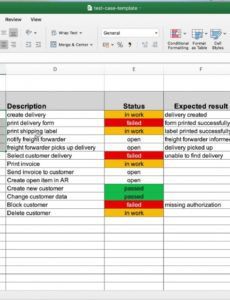 editable a proven test case template for software testing excel website testing checklist template word