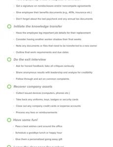 printable employee offboarding checklist a guide to graceful exits offboarding checklist template