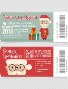 christmas ticket free vector art  12 free downloads christmas party ticket template excel