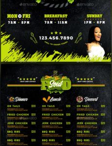 editable fish fry graphics designs & templates from graphicriver fish fry ticket template word