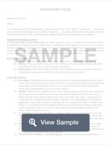 free florida promissory note templates pdf & docx  formswift florida promissory note template word