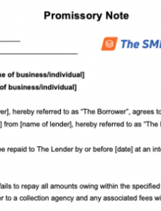 how to write a promissory note with free template short term promissory note template pdf
