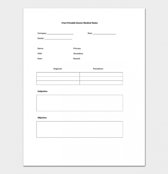medical note template  30 doctor note samples blank doctors note template doc