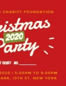 online christmas party ticket template  fotor design maker holiday party ticket template pdf