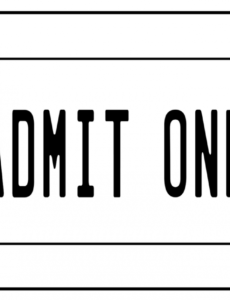 sample admission ticket clip art  clip art library entrance ticket template example