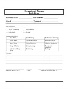 sample of 5 therapy note examples in pdf  ms word  examples group therapy note template excel