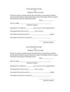 42 fake doctor's note templates for school & work dentist excuse note template excel