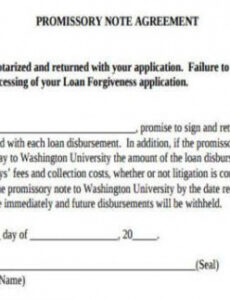 free 7 sample promissory note agreement forms in pdf  ms word promissory note extension agreement template doc