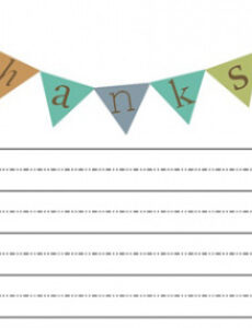 printable 5 twists on traditional thankyou notes for kids  help! we kids thank you note template excel
