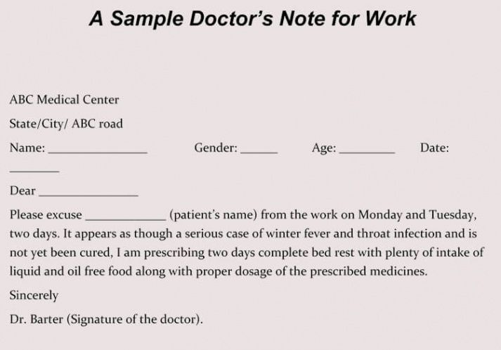 printable creating fake doctor's note  excuse slip 12 templates for dentist excuse note template doc