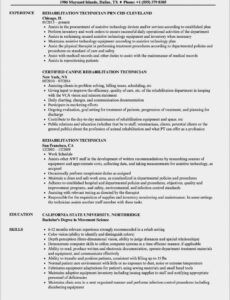 Best Surgical Technologist Resume Template Doc Sample