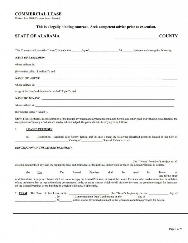 Notice Of Lease Violation Template Word