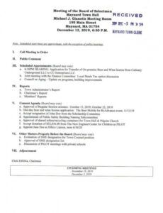 Printable Notice Of Board Meeting Template Excel Sample