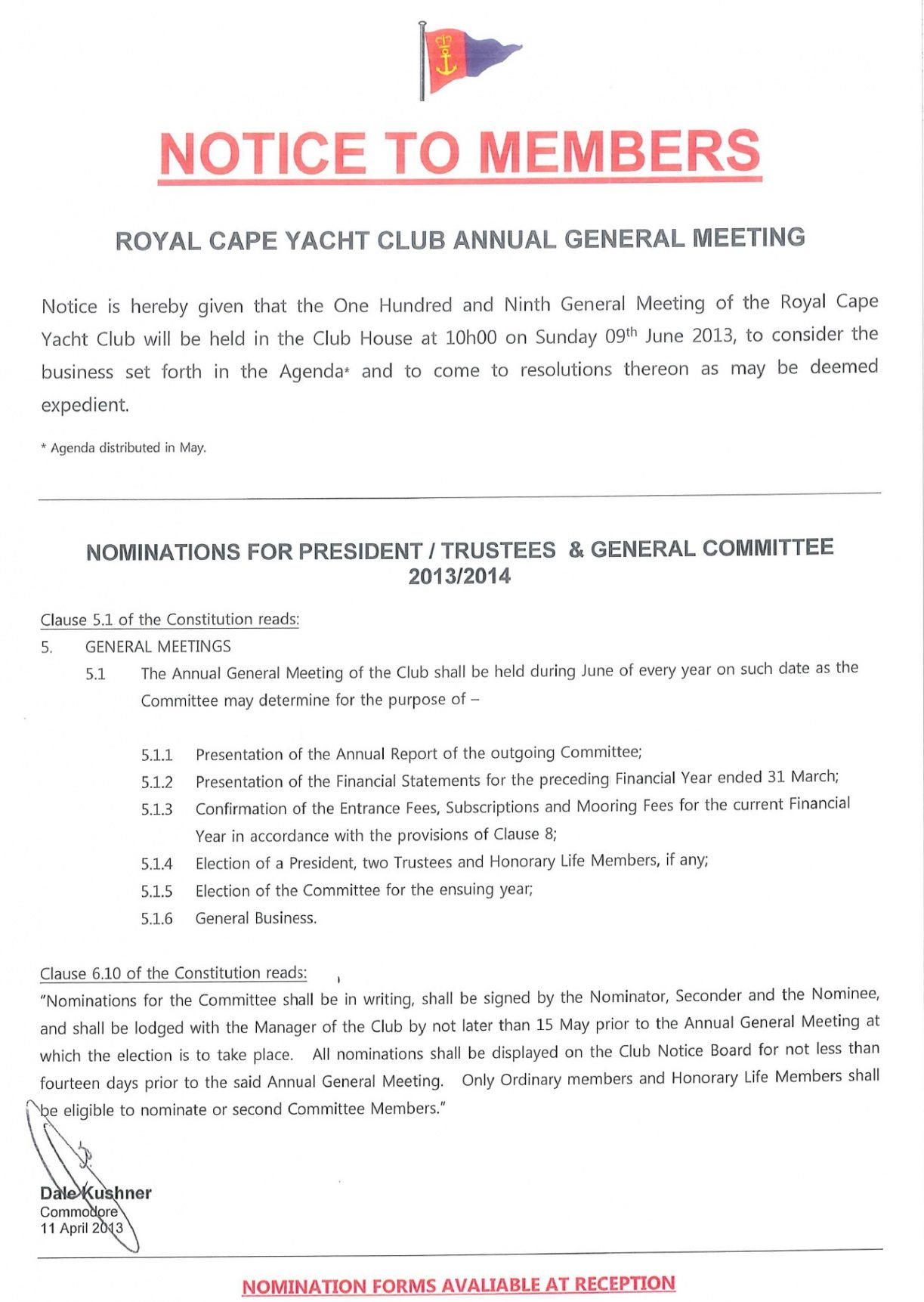 Professional Notice Of Board Meeting Template Pdf Example