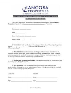 Professional Notice Of Lease Violation Template Doc Example