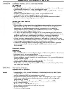 Best Freelance Writer Resume Template Doc Sample