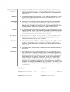 Best Sublease Eviction Notice Template Word