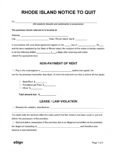 Printable Immediate Eviction Notice Template Pdf