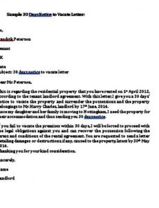 Best Notice Of Moving Out To Landlord Template Pdf Sample