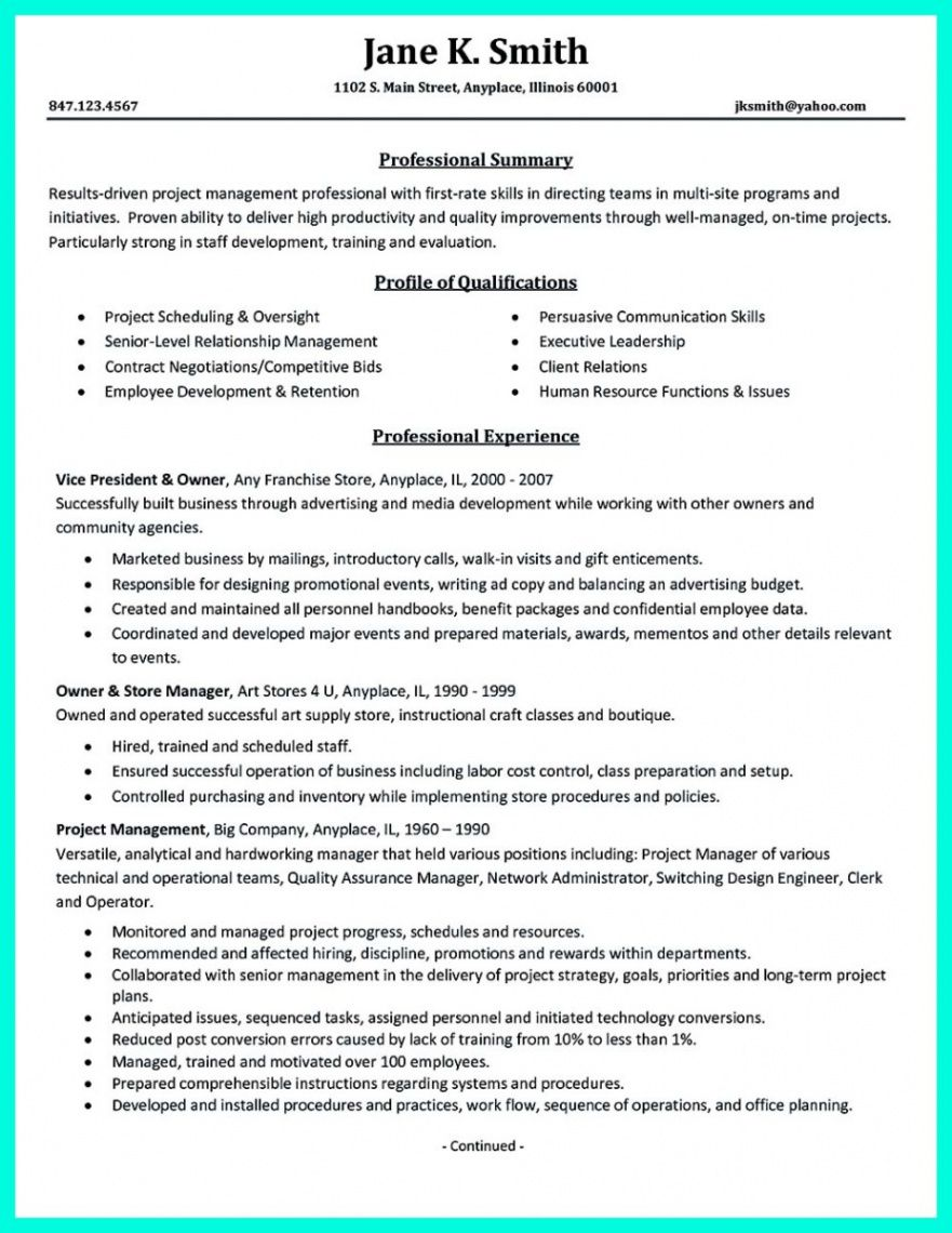 Professional Case Manager Resume Template
