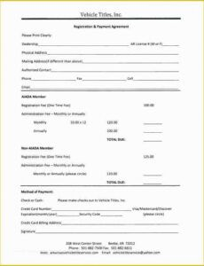 Professional Loan Payment Coupon Book Template Pdf