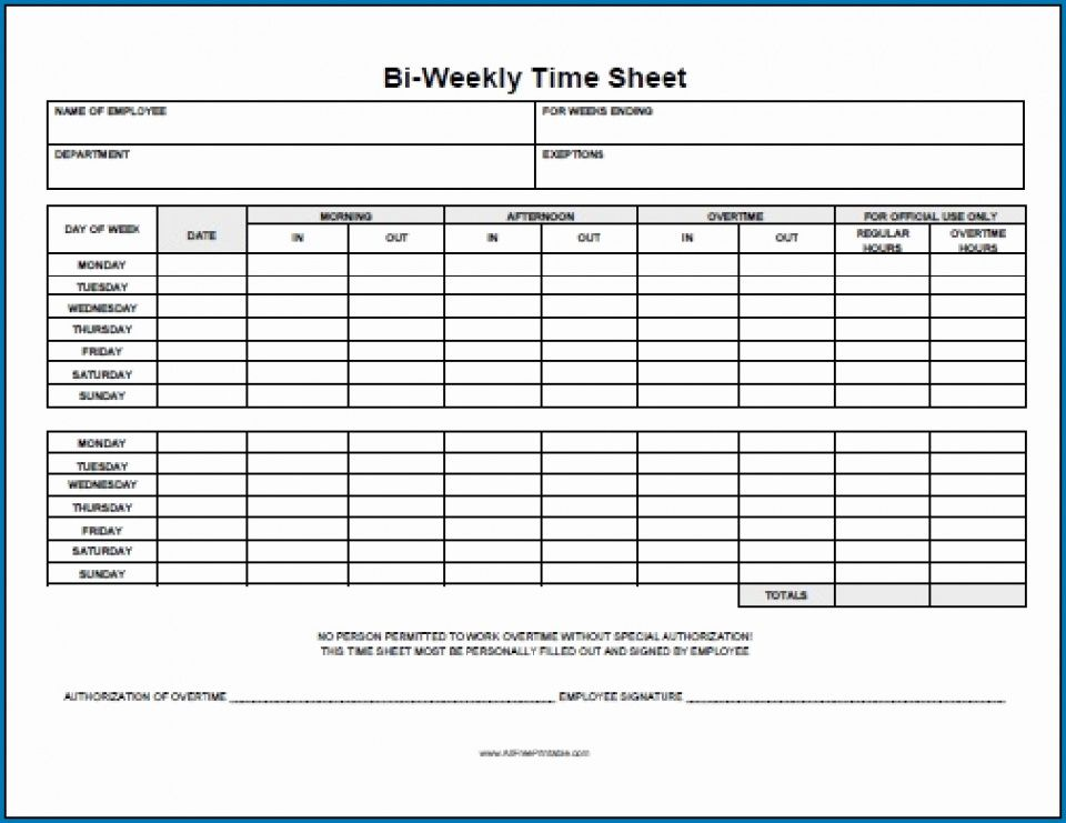 Professional Yearly Timesheet Template Doc Example