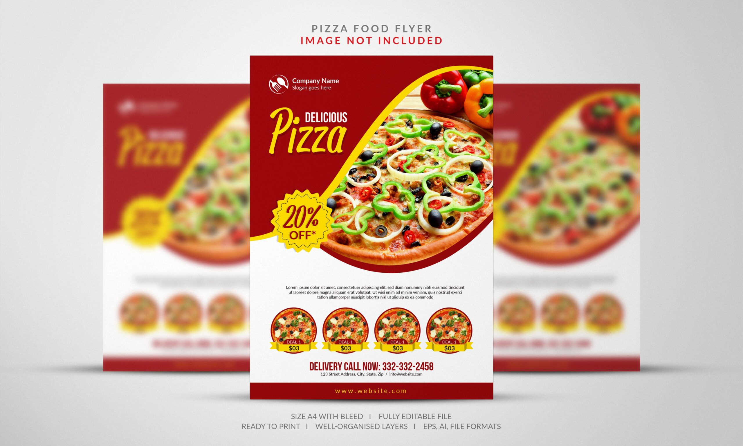 Costum Pizza Coupon Template Pdf Example