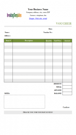Costum Rent Payment Coupon Template Excel