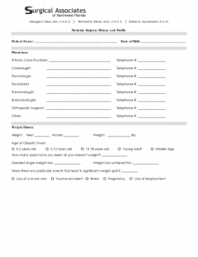 Editable Medical Consult Note Template Word