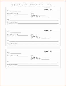 Editable Rent Payment Coupon Template Doc Sample