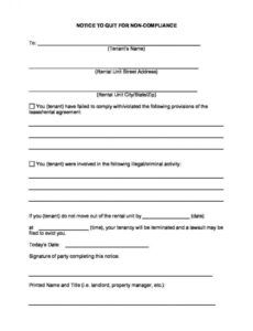 Free Montana Eviction Notice Template