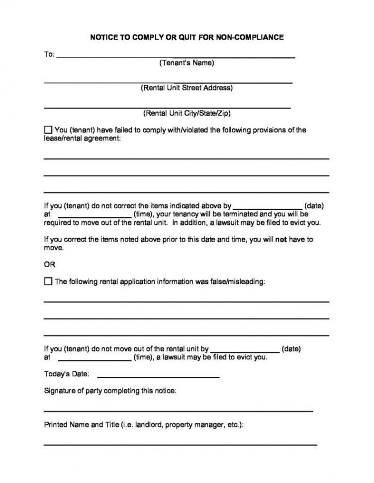 Professional Montana Eviction Notice Template Word