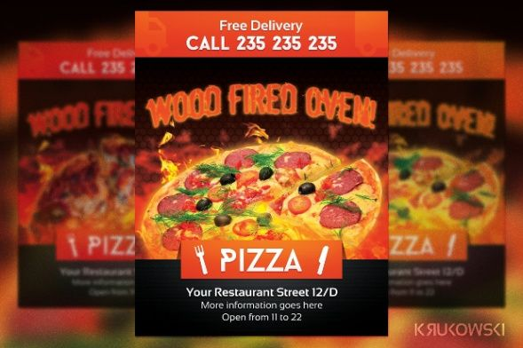 Professional Pizza Coupon Template Pdf