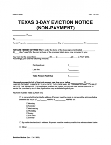 Costum Section 8 Eviction Notice Template Word