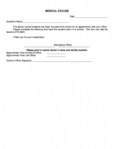 complete fillable 21 sample emergency release forms forms urgent care doctor note template