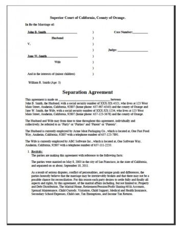 printable free printable divorce template form generic release of promissory note template word