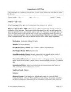 printable week7soapnotedocx  episodicfocused soap note week 7 pain management soap note template word