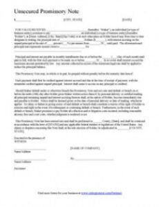 sample of promissory note template form  can be customized and edited automobile promissory note template pdf